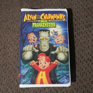 Alvin and the Chipmunks Meet Frankenstein VHS